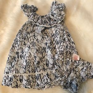 Other - Bunny Print 3-6 Month Dress